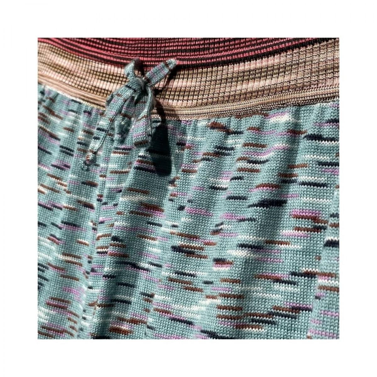 m missoni bukser - multicolor - detalje bindebånd