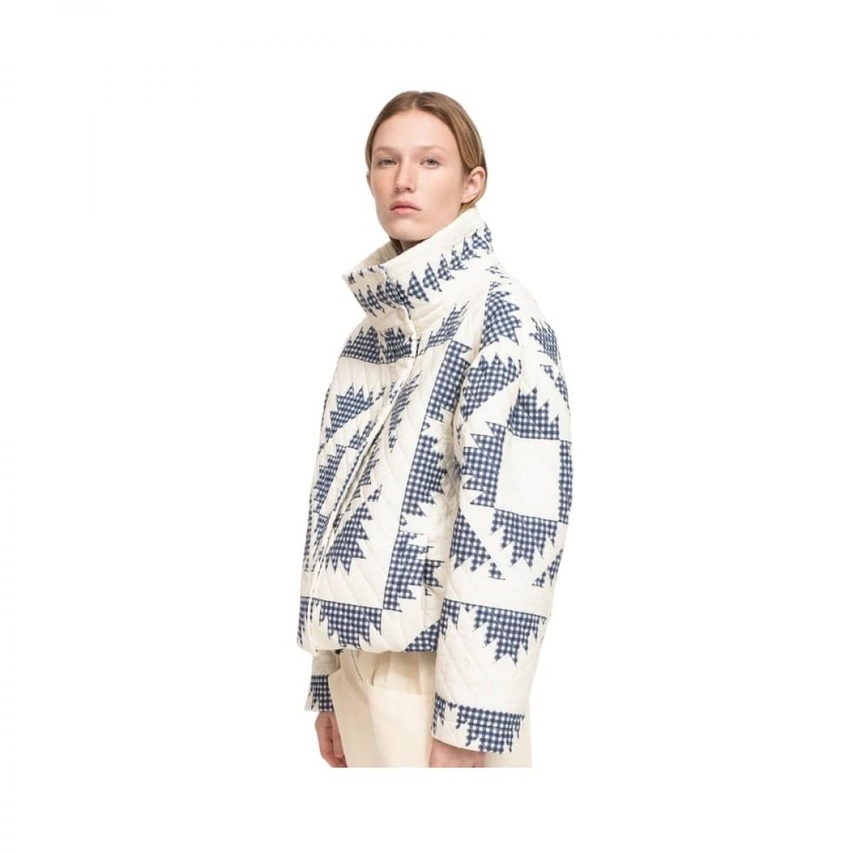 gloucester puffer jacket - multi model fra siden