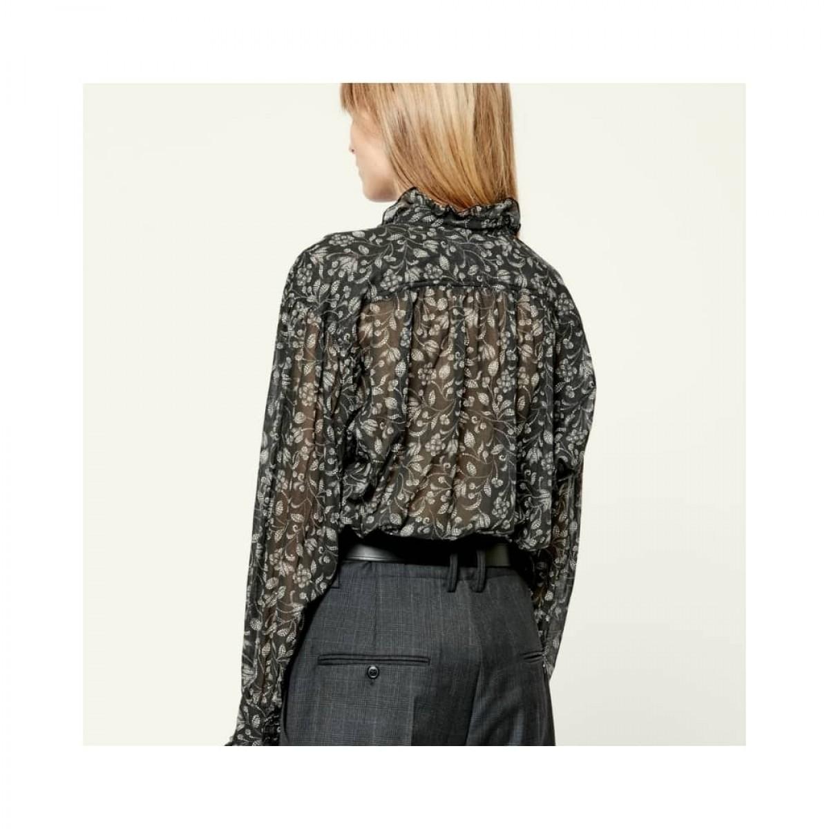 pamias skjorte - black -model ryg