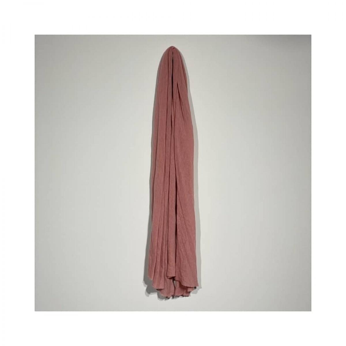 luxury m tørklæde - old pink - langt