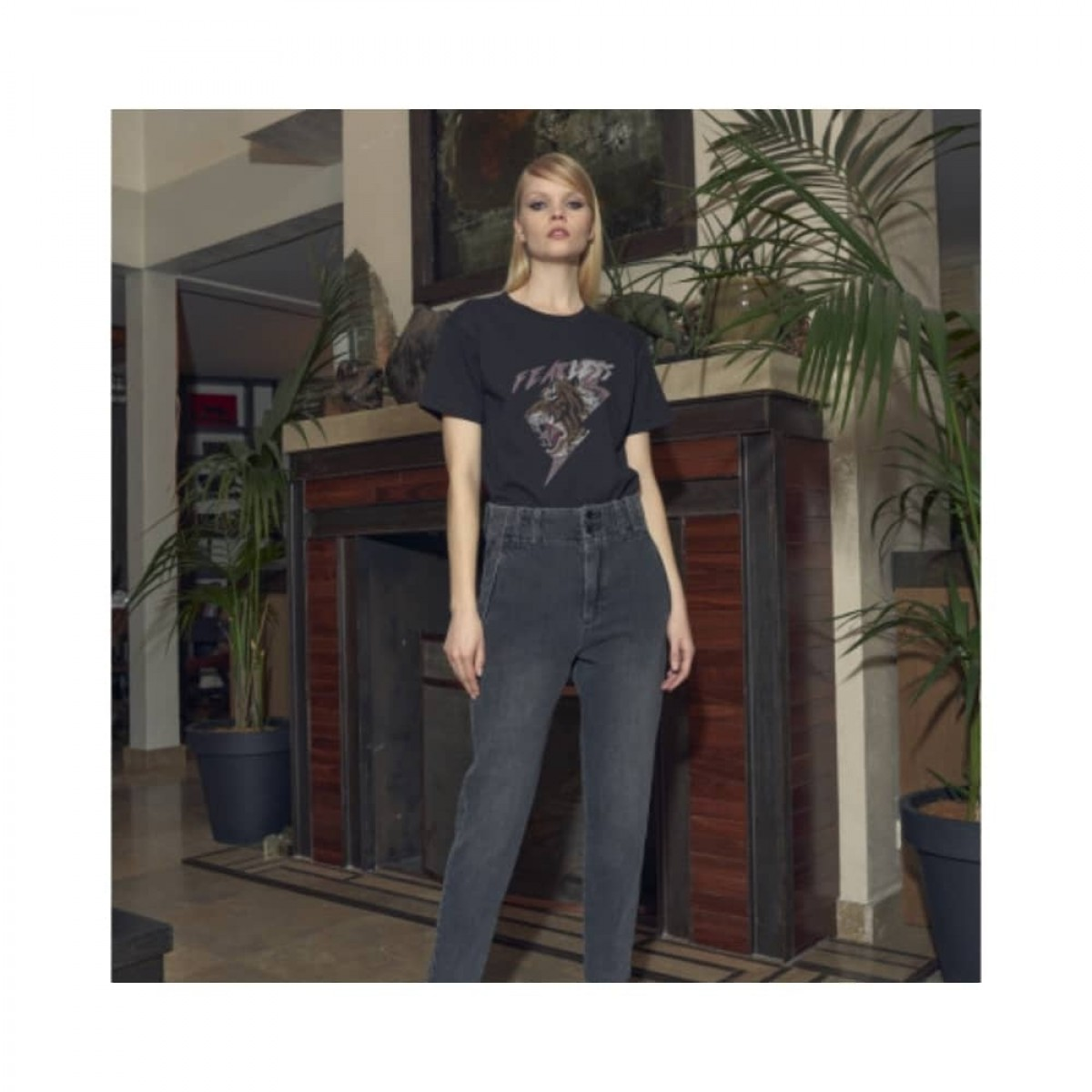lenny jeans - grey