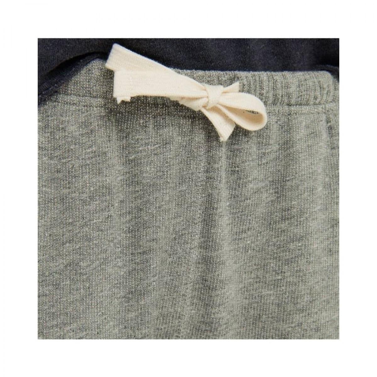 plomer sweat bukser - heather grey - snørre