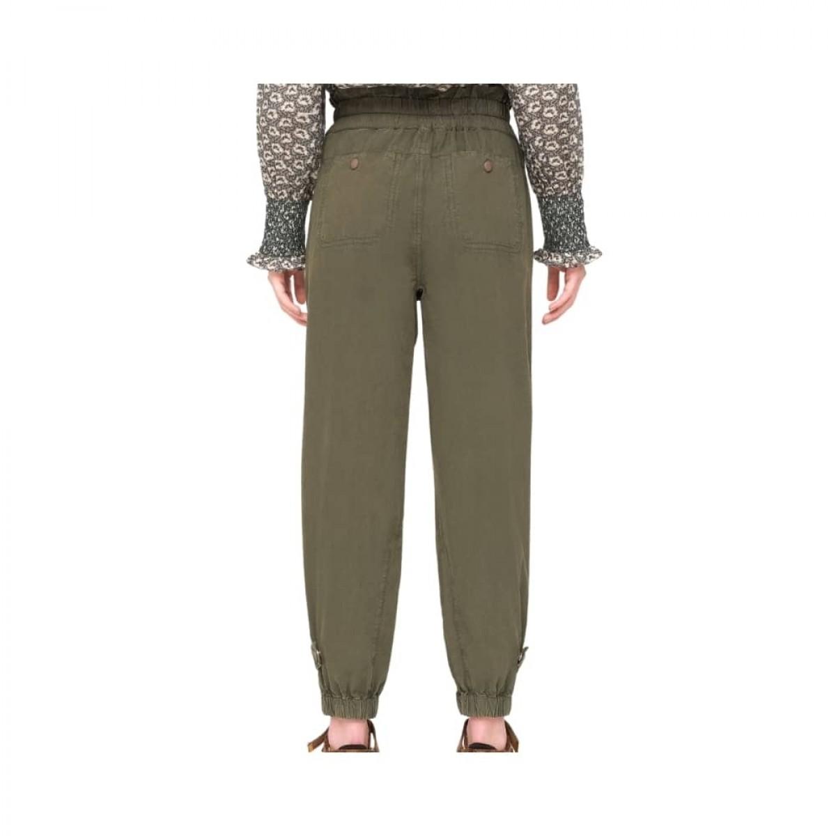 layla pants - army - model bagfra