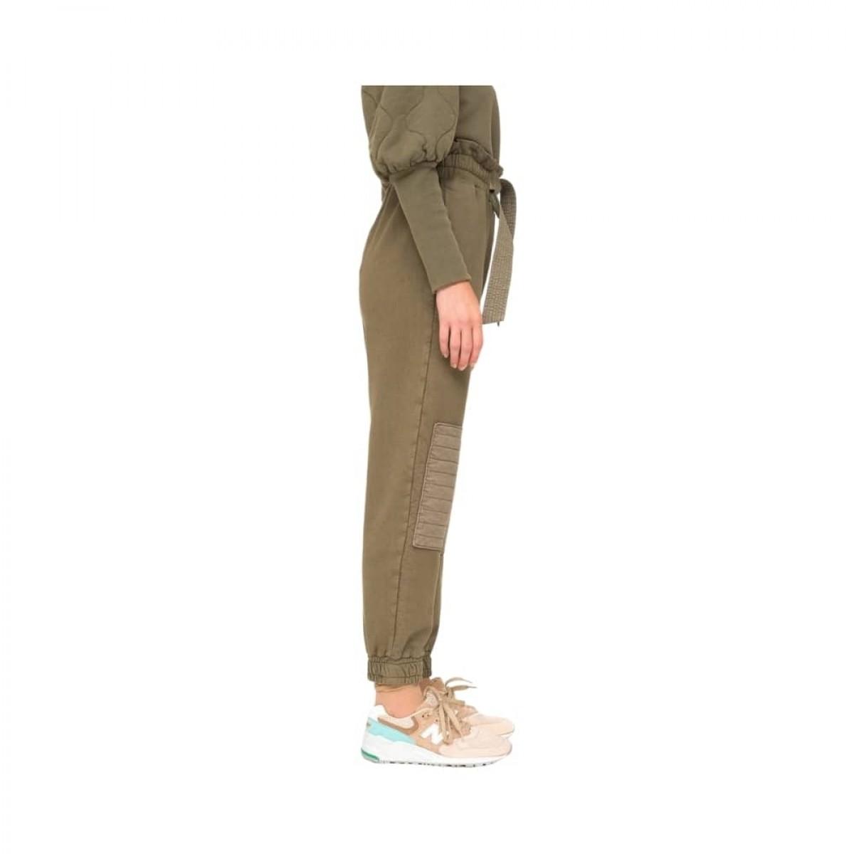 layla sweat pants - army - model fra siden
