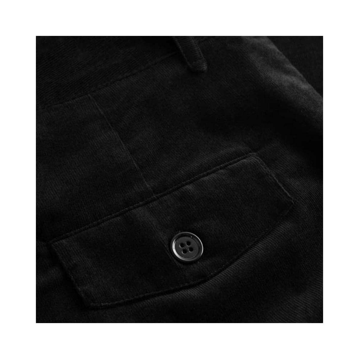 coppola pants - black fløjl - baglomme