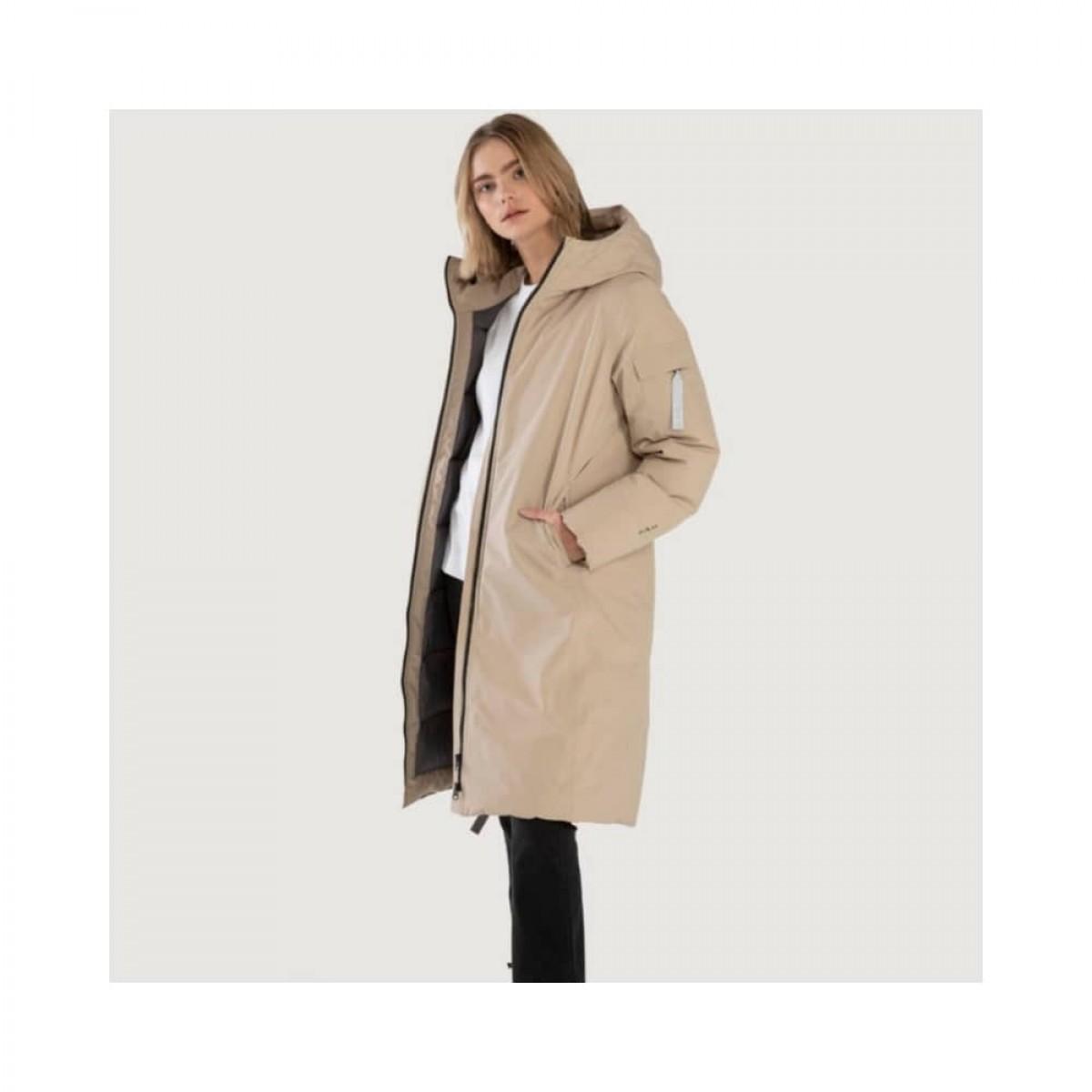 bjorli jacket - beige - model fra siden
