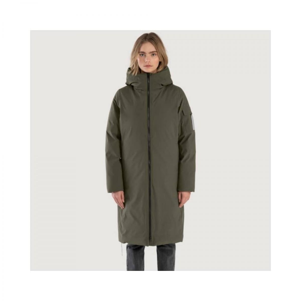 bjorli jacket - green - model front