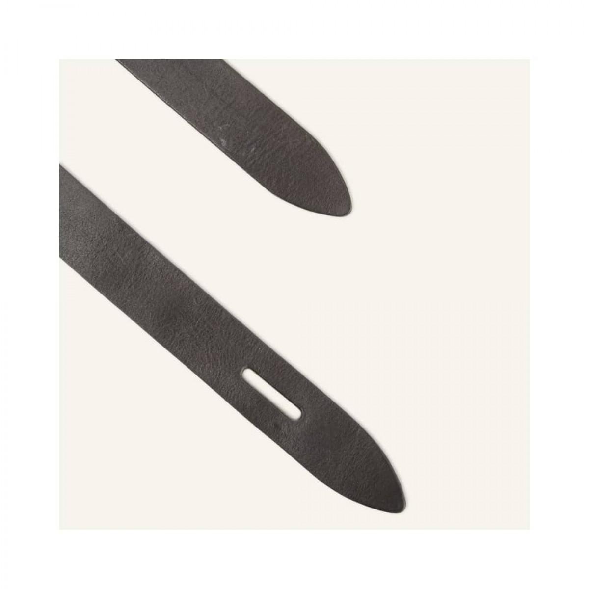 lecce bælte - black - detalje 1