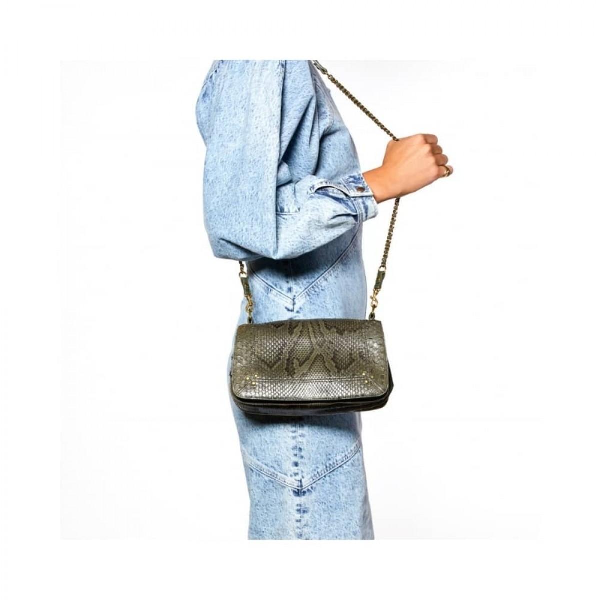 bobi python taske - olive - model fra siden