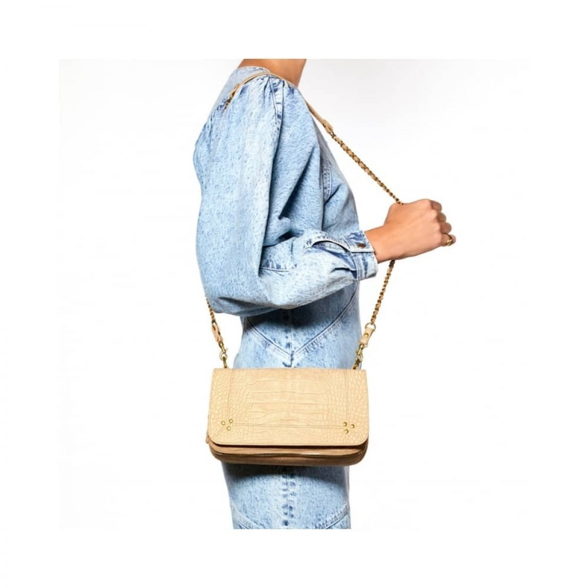 bobi taske - croco ficelle - model fra siden