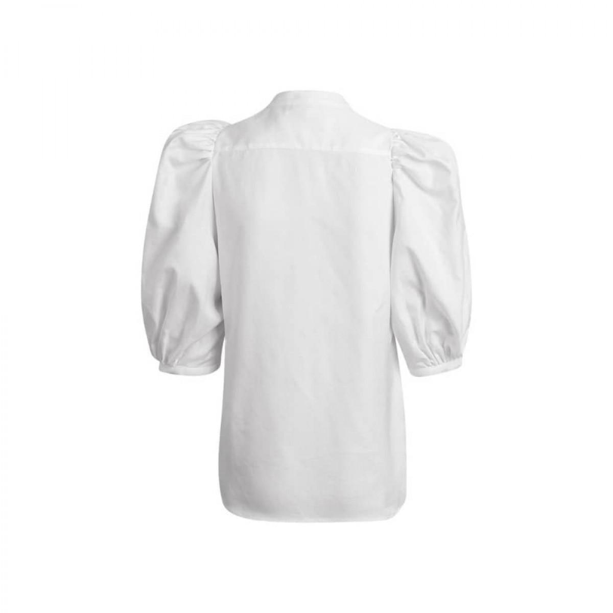 dalia skjorte - white - bag