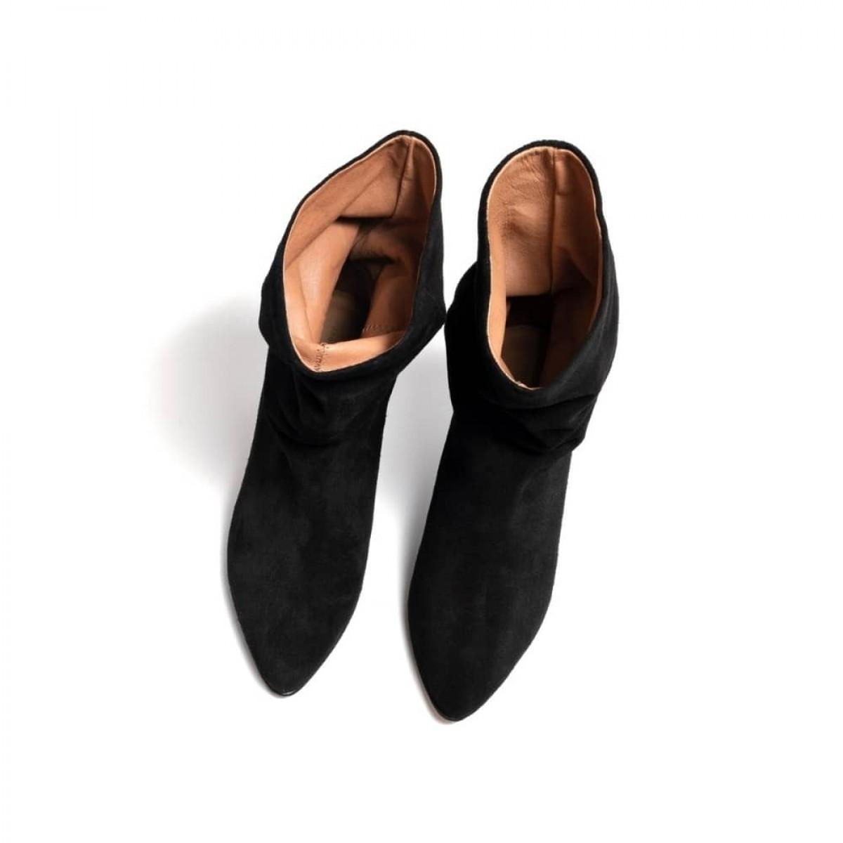 vully 50 Stiletto - Suede Black - 4