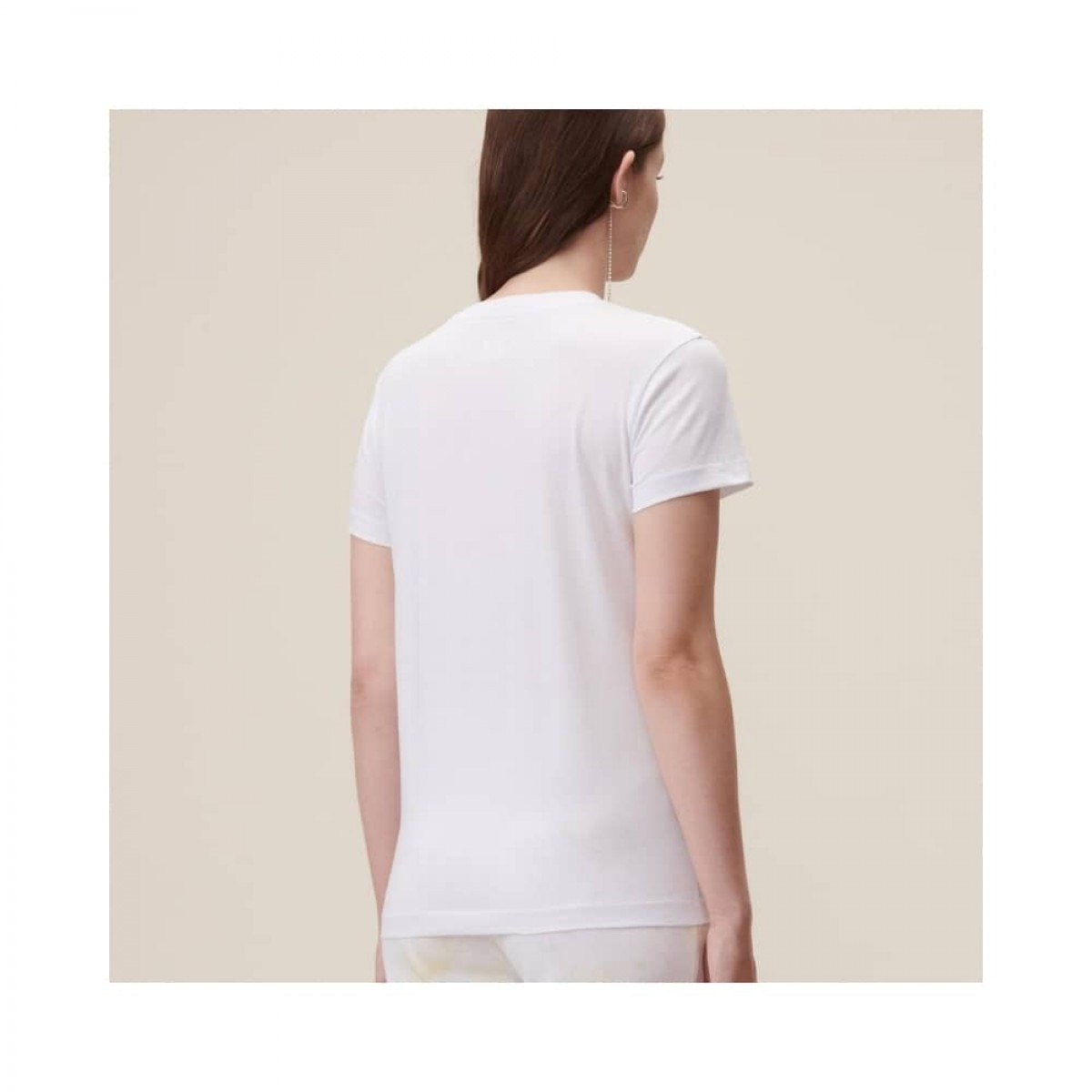cara aquarelle pink t-shirt -. model bag