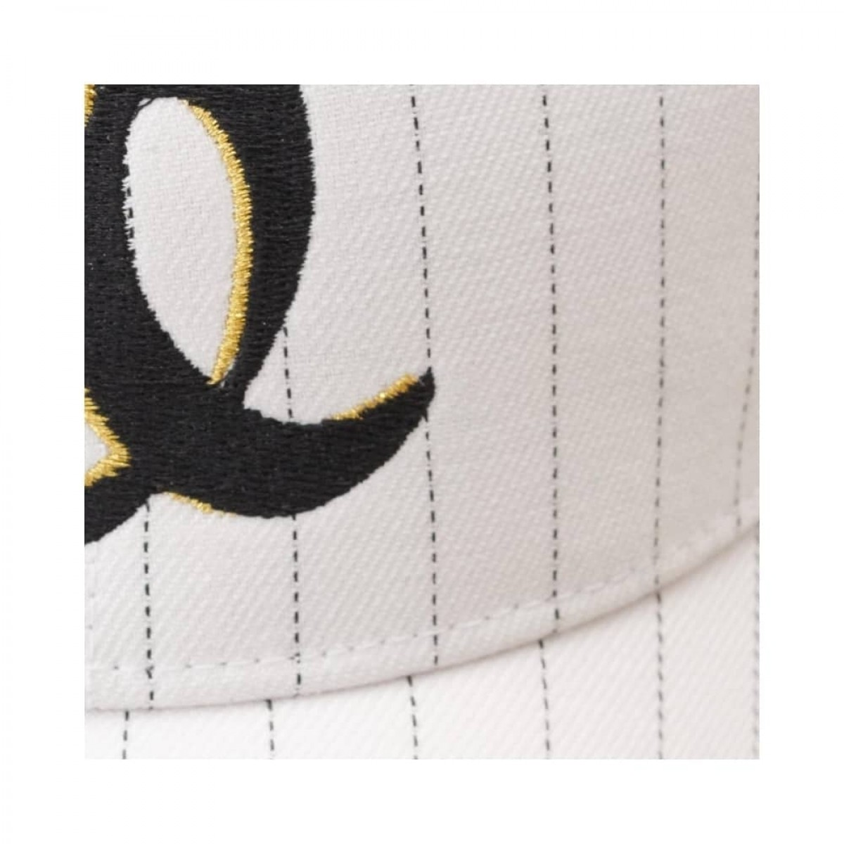 cap sunny - summer stripe heart - logo front