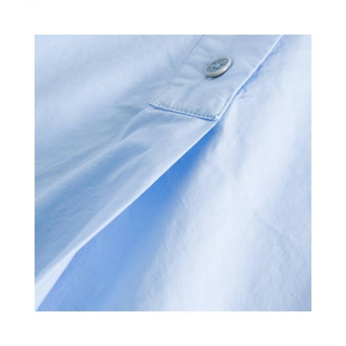 shiloh skjorte - light blue - læg detalje