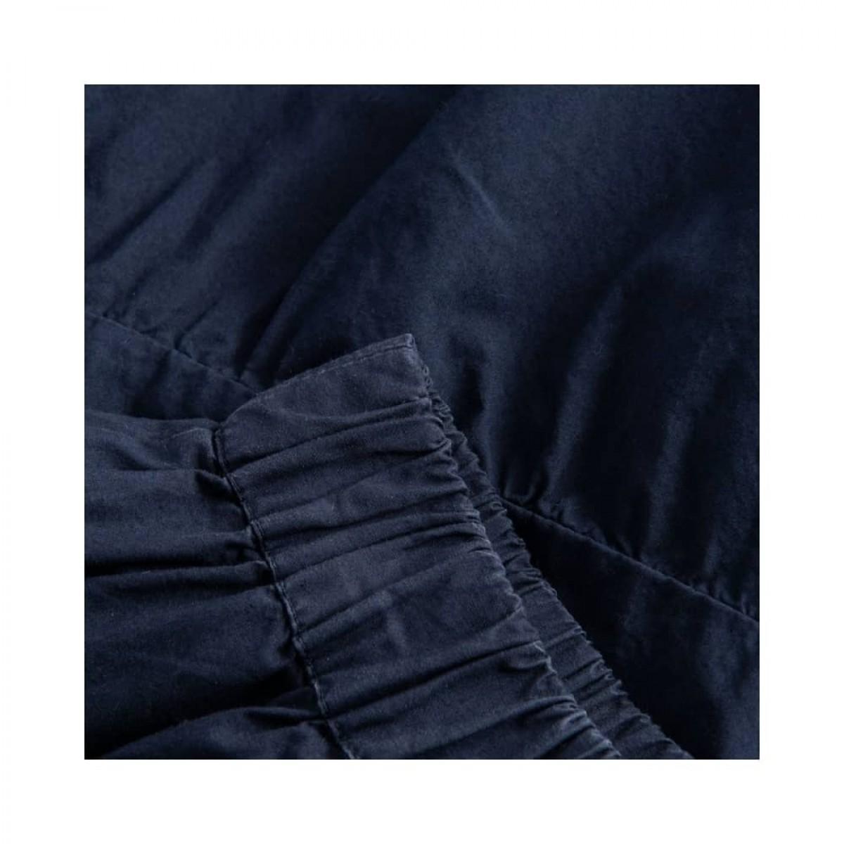 paprika nederdel - dark navy - elastic detalje