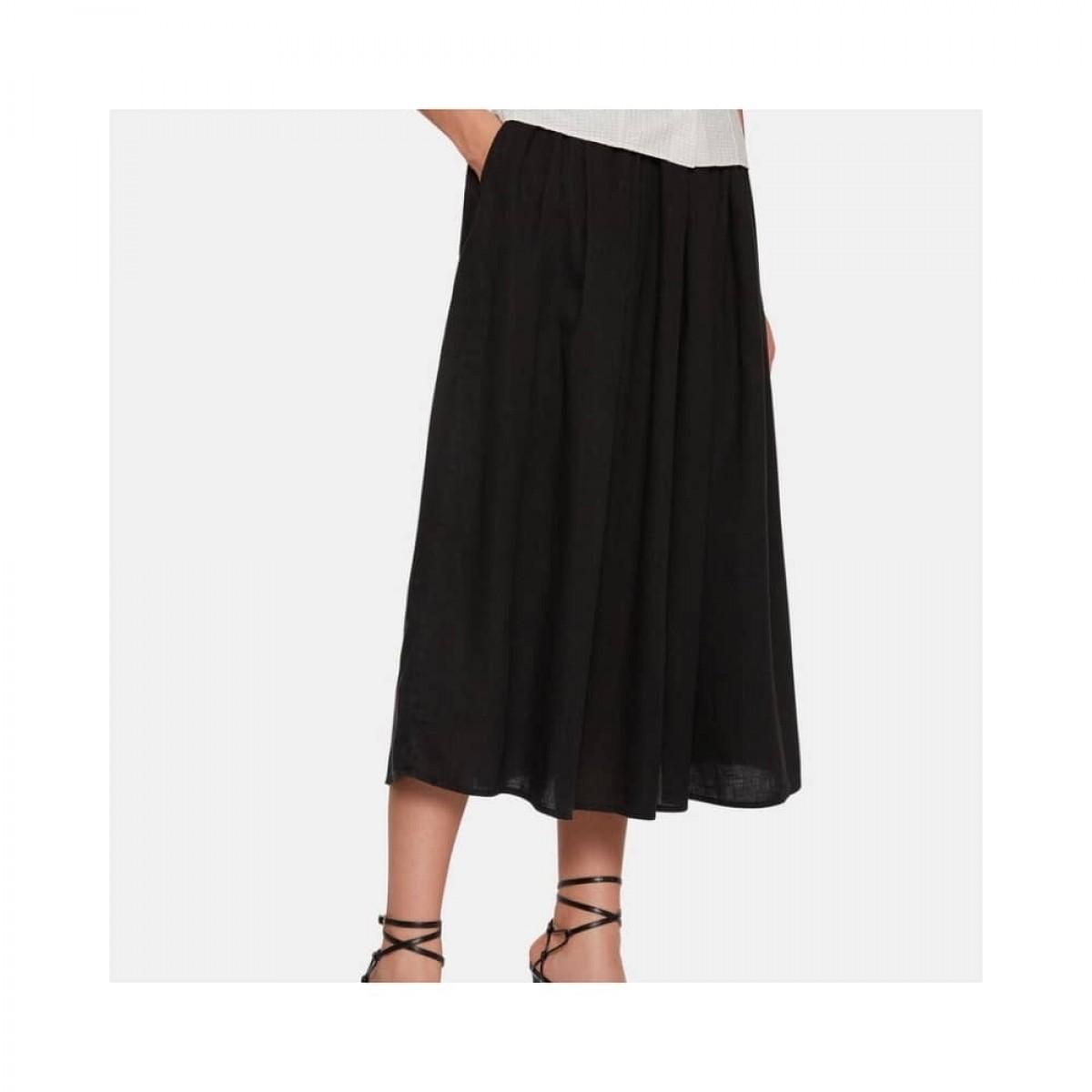 gonna nederdel - black - model nederdel