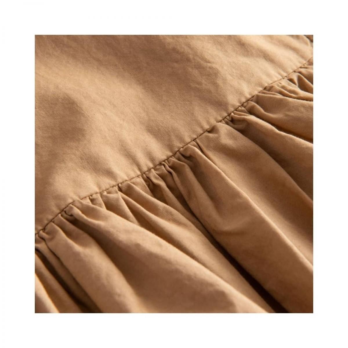 dixie kjole - light brown - talje