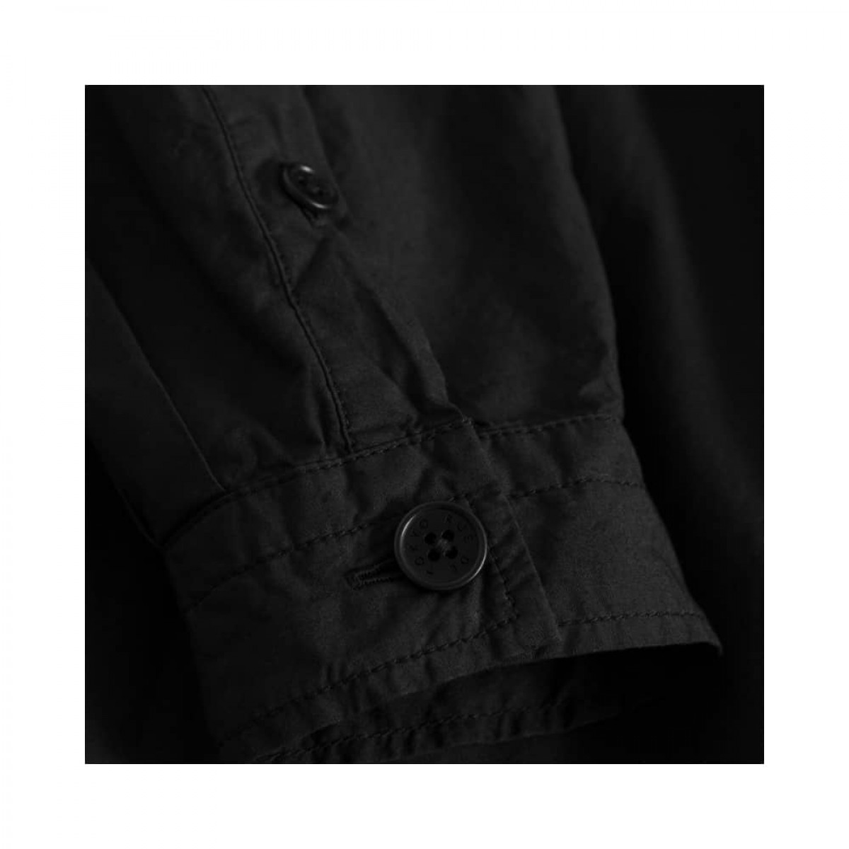dixie kjole - black - ærme detalje