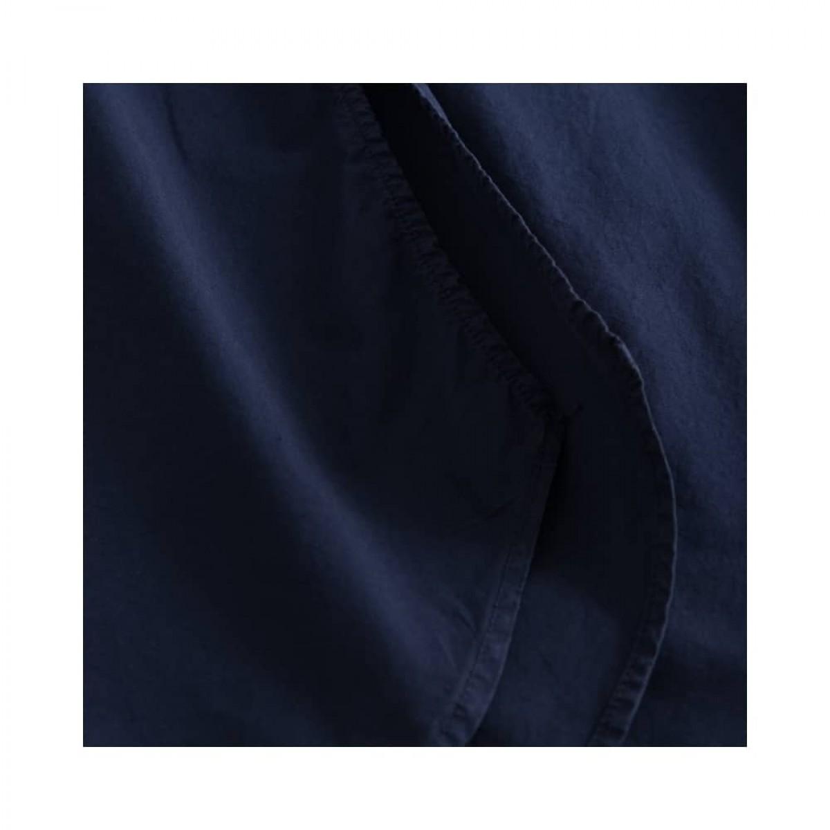 deluna kjole - dark navy - slids detalje