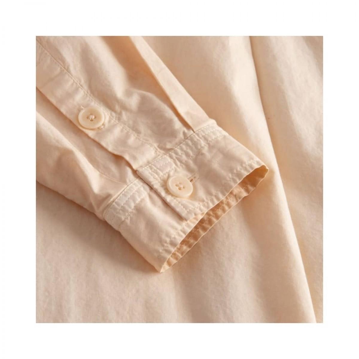 shiloh skjorte - oat - ærme detalje