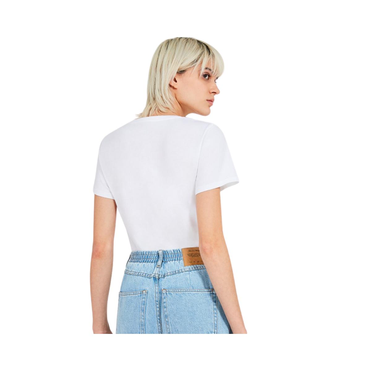 vegiflower t-shirt - blance - model billede bag