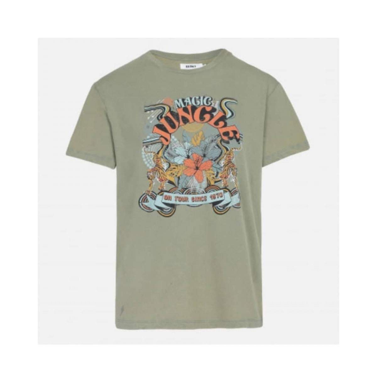 twiggy t-shirt - olive - front