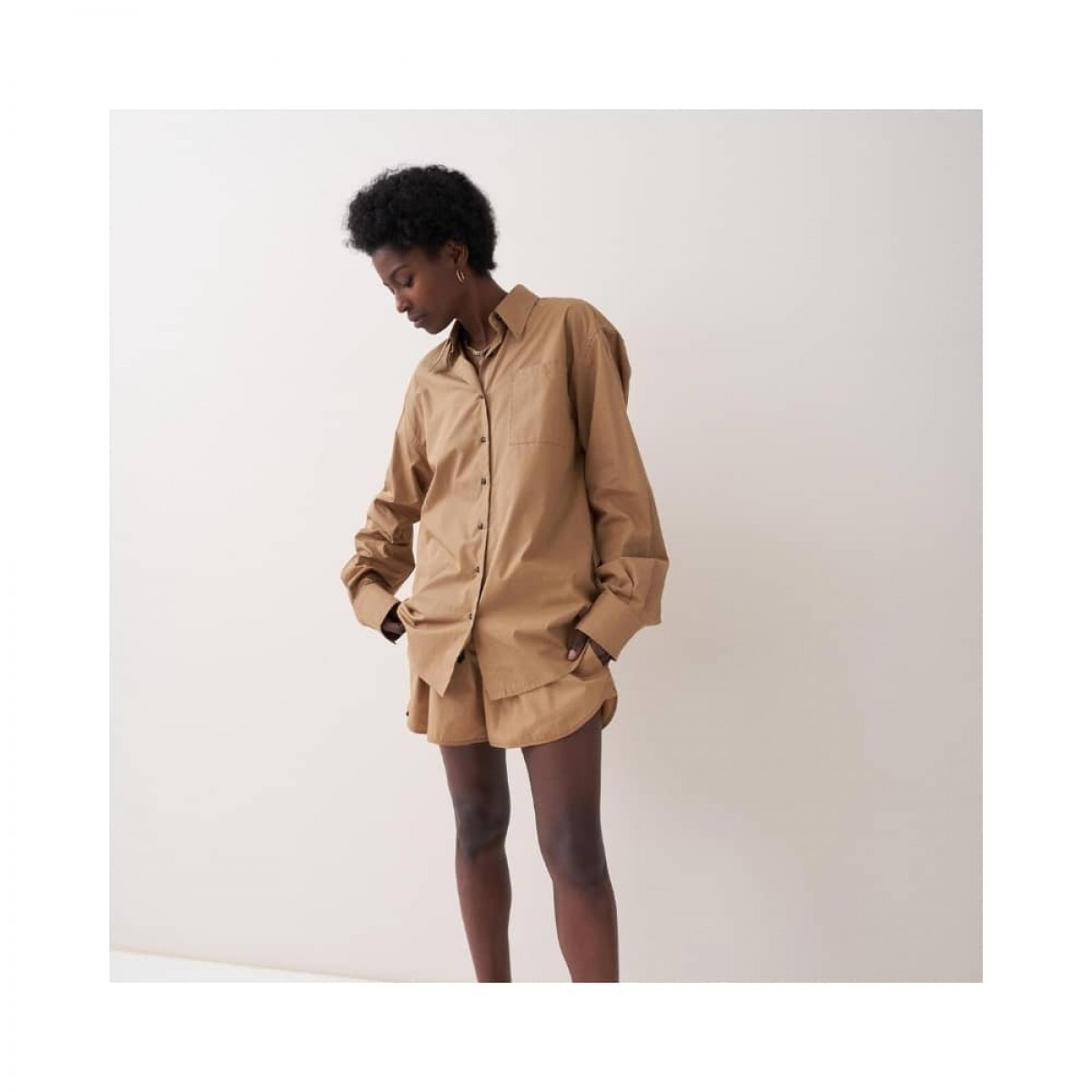 blaze skjorte - khaki - model look