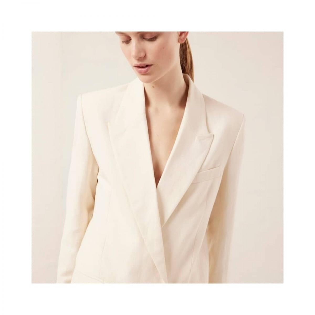 joe jacket - creme - model krave detalje