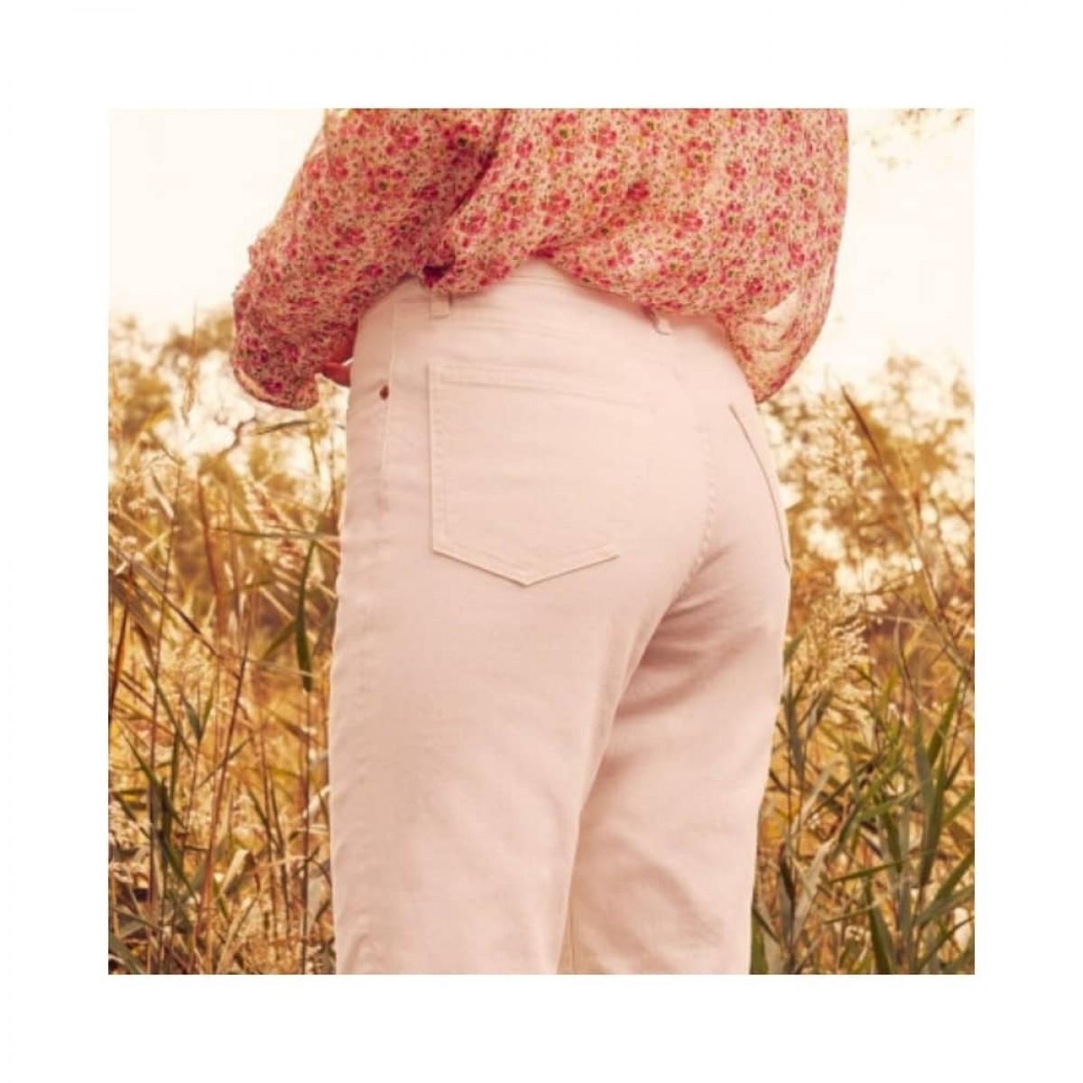 milo jeans - off white - model bagtil