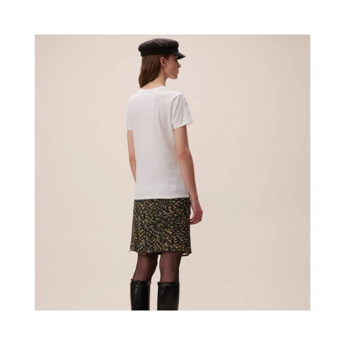 t-shirt reda lala mix - white - model ryggen