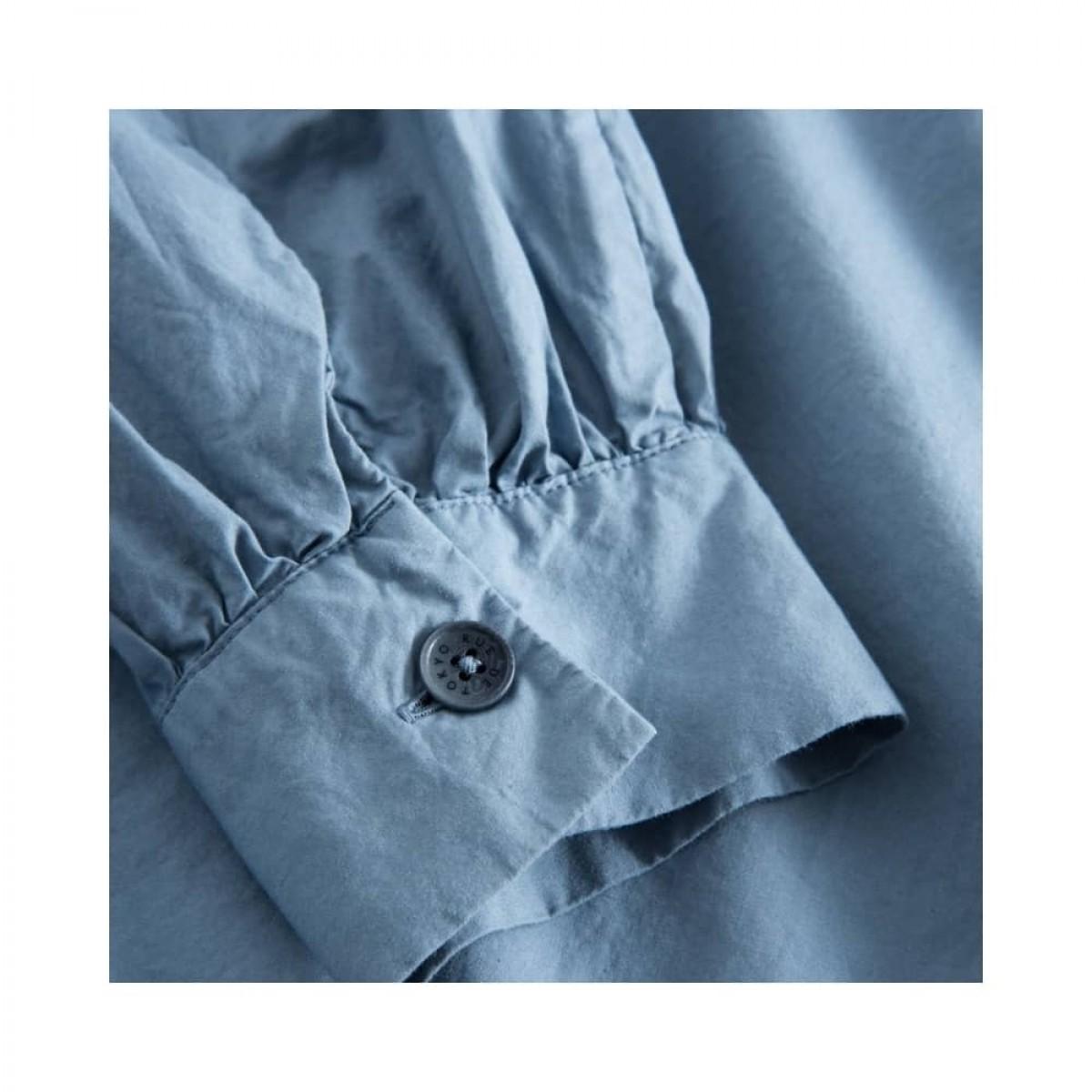 sada skjorte bluse - blue - ærme detalje