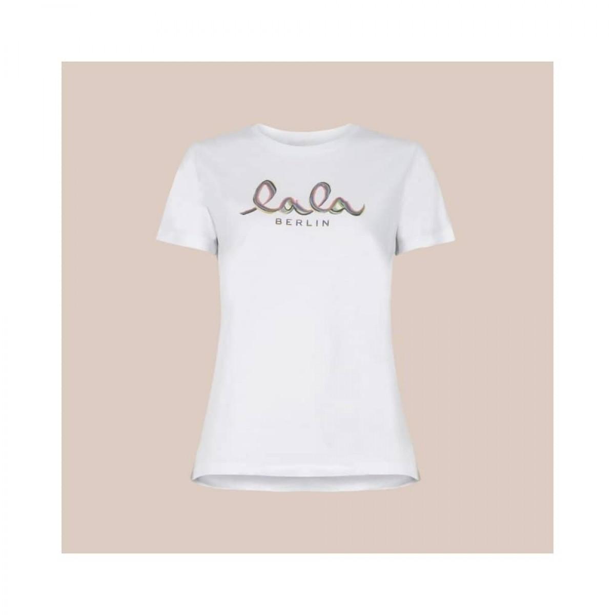 cara t-shirt rainbow - white - front