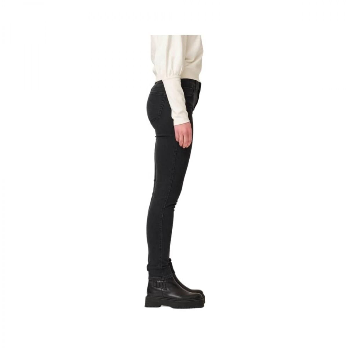 dylan slim jeans - black - model fra siden