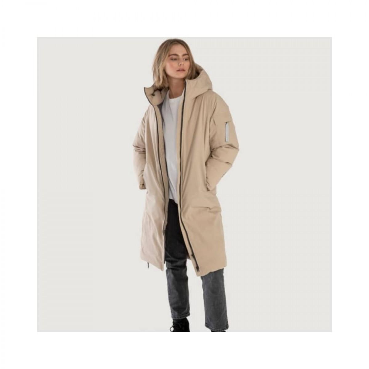 bjorli jacket - beige - model front