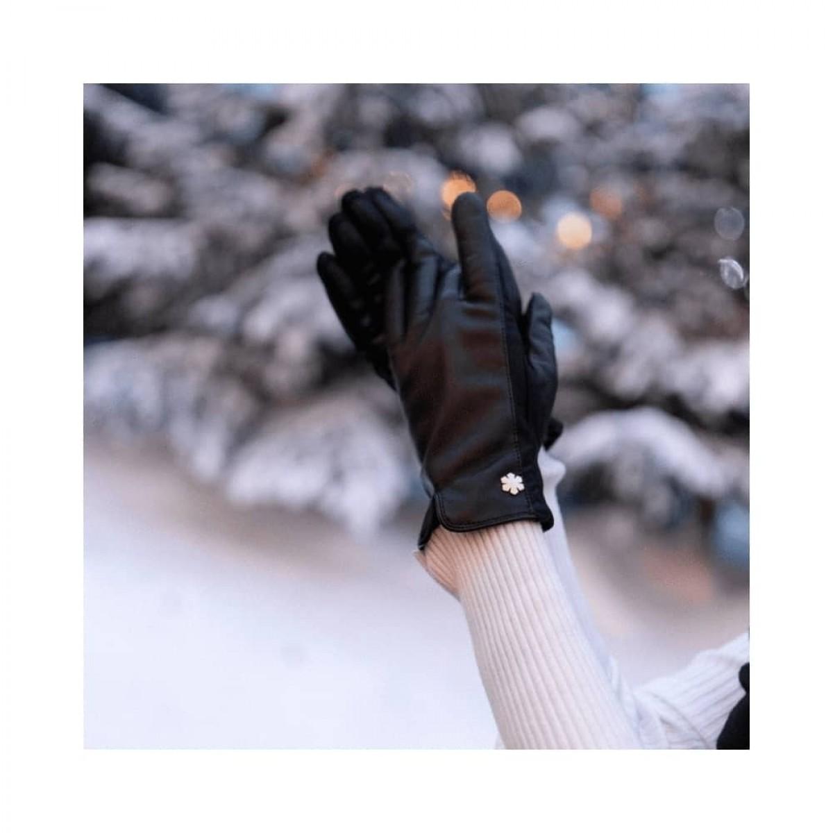 victoria handske - black - model vinter