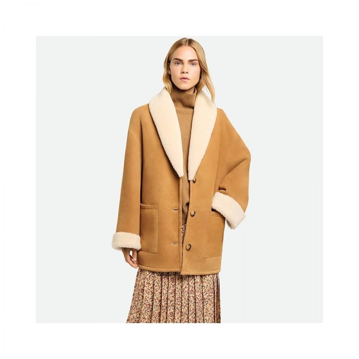 sambo jacket rulam - marron - model front