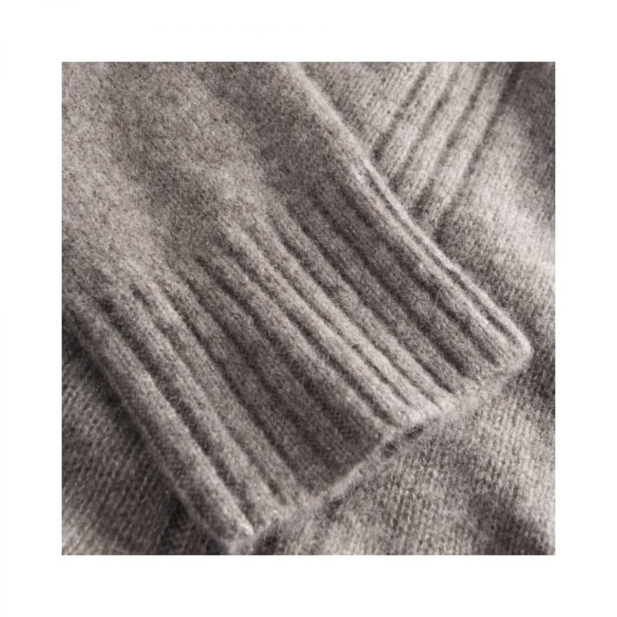 kristin rullekrave strik - hazelnut - ærme detalje