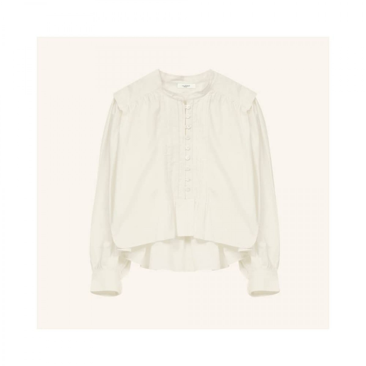 okina top - white - front