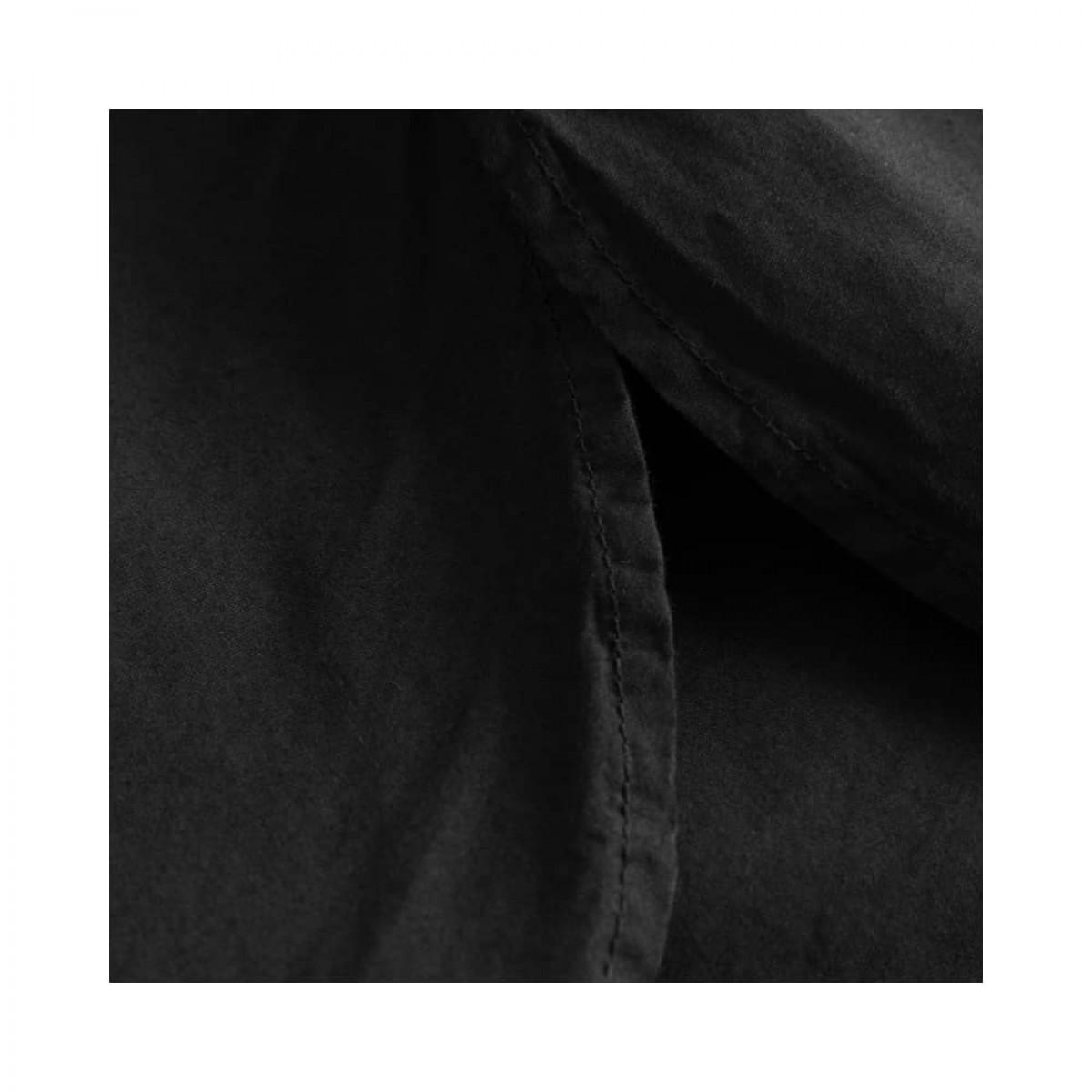 dixie kjole - black - slids detalje