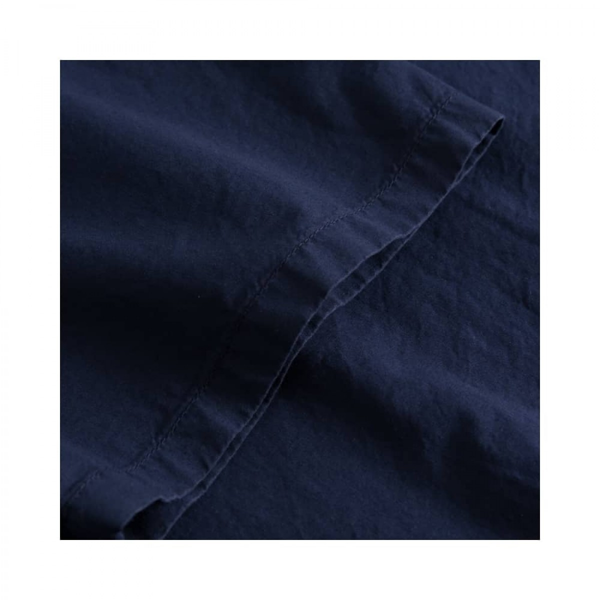 deluna kjole - dark navy - kort ærme