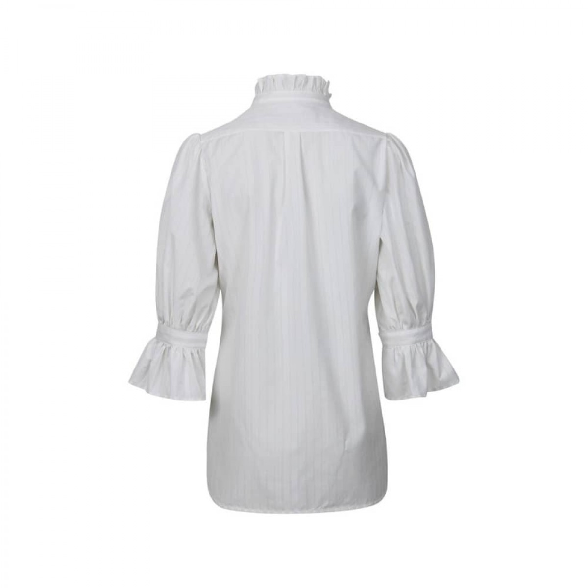 joanna skjorte - vanilla stripe - bag