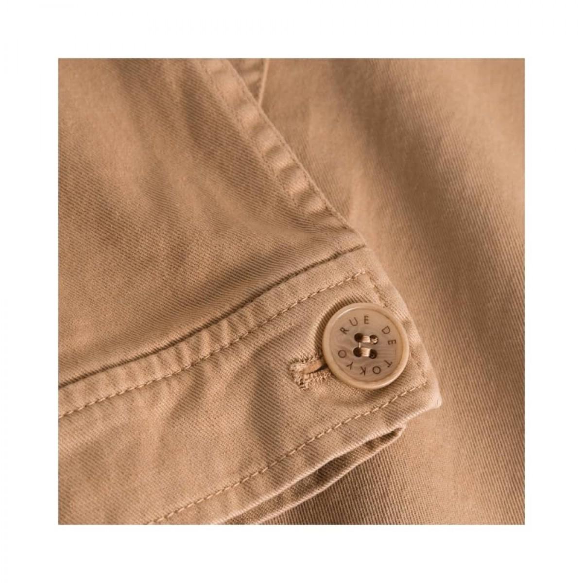 cady workwear jakke - light brown - ærme detalje
