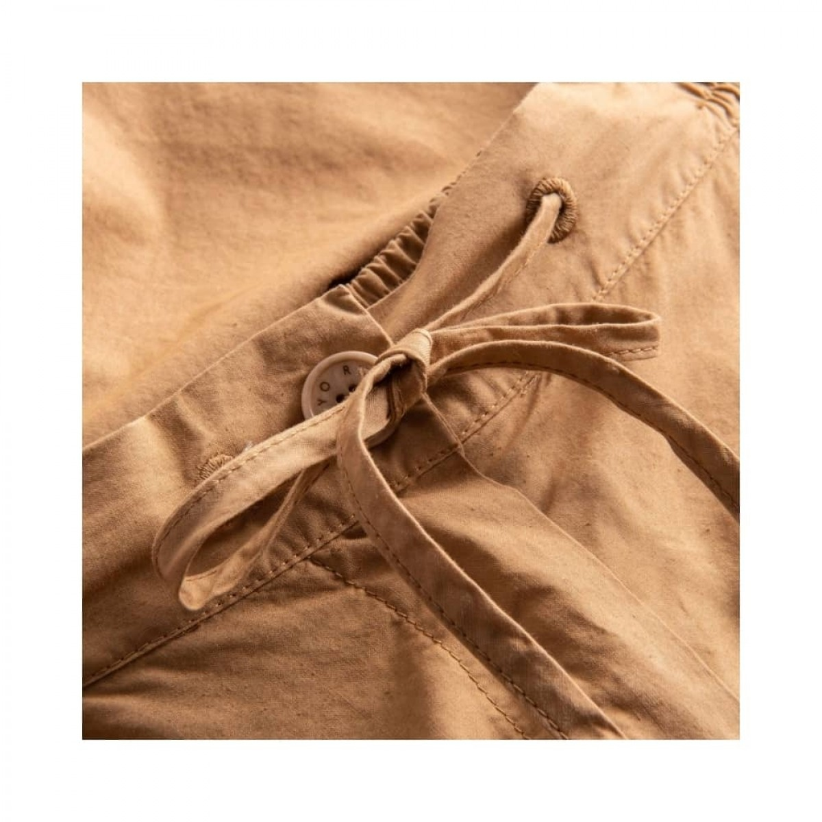peony shorts - light brown - talje med snørre