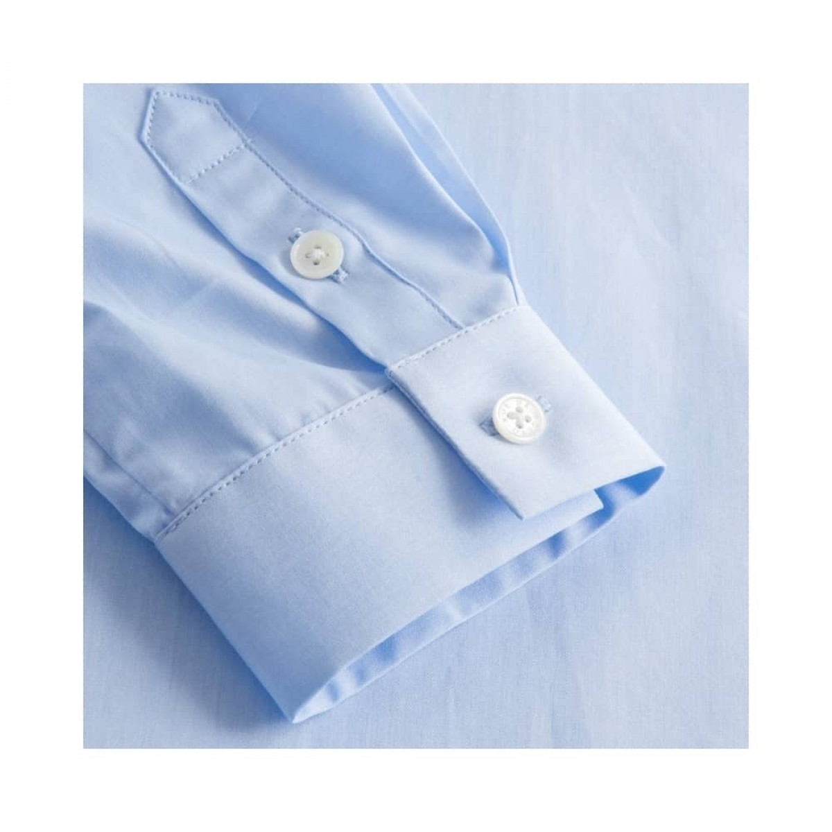 sera skjorte - light blue - ærme detalje