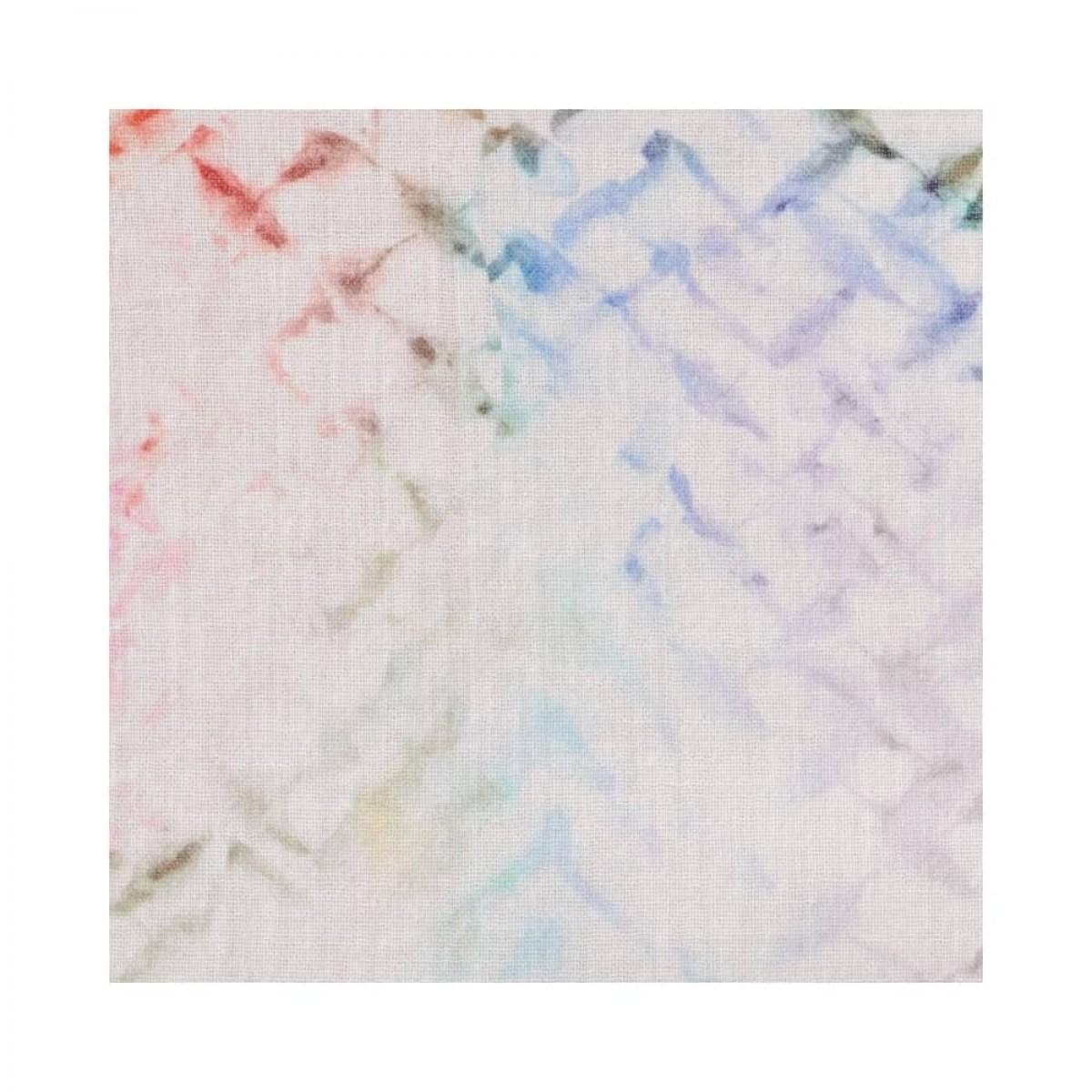 binia bluse - rainbow kufiya - print