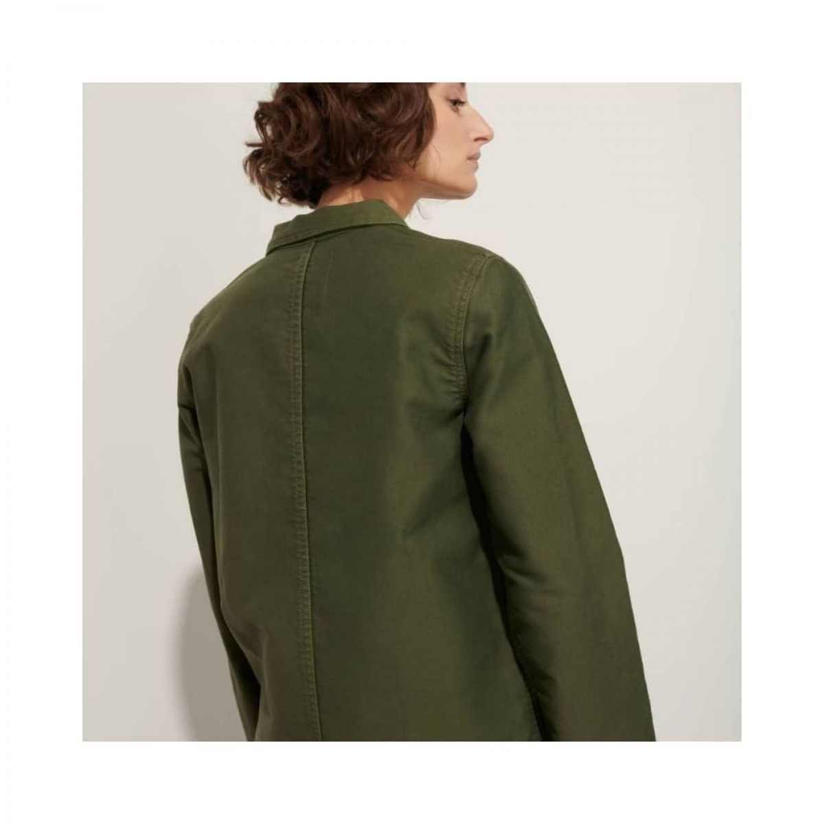 genuine work jacket - kaki - model ryggen