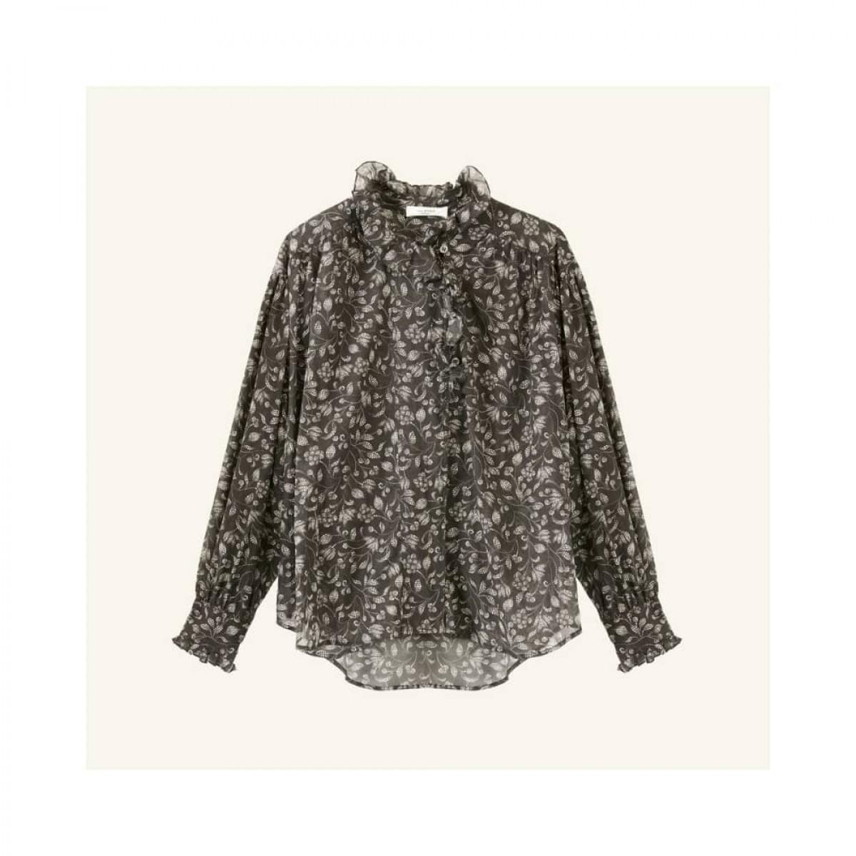 pamias skjorte - black