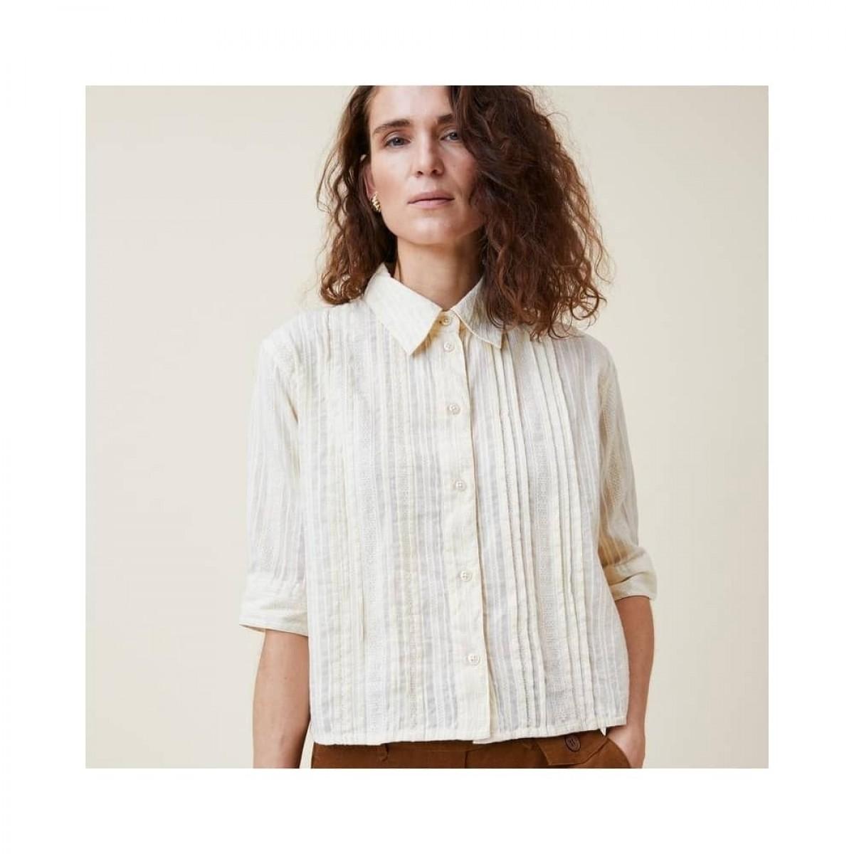 romala shirt - cream