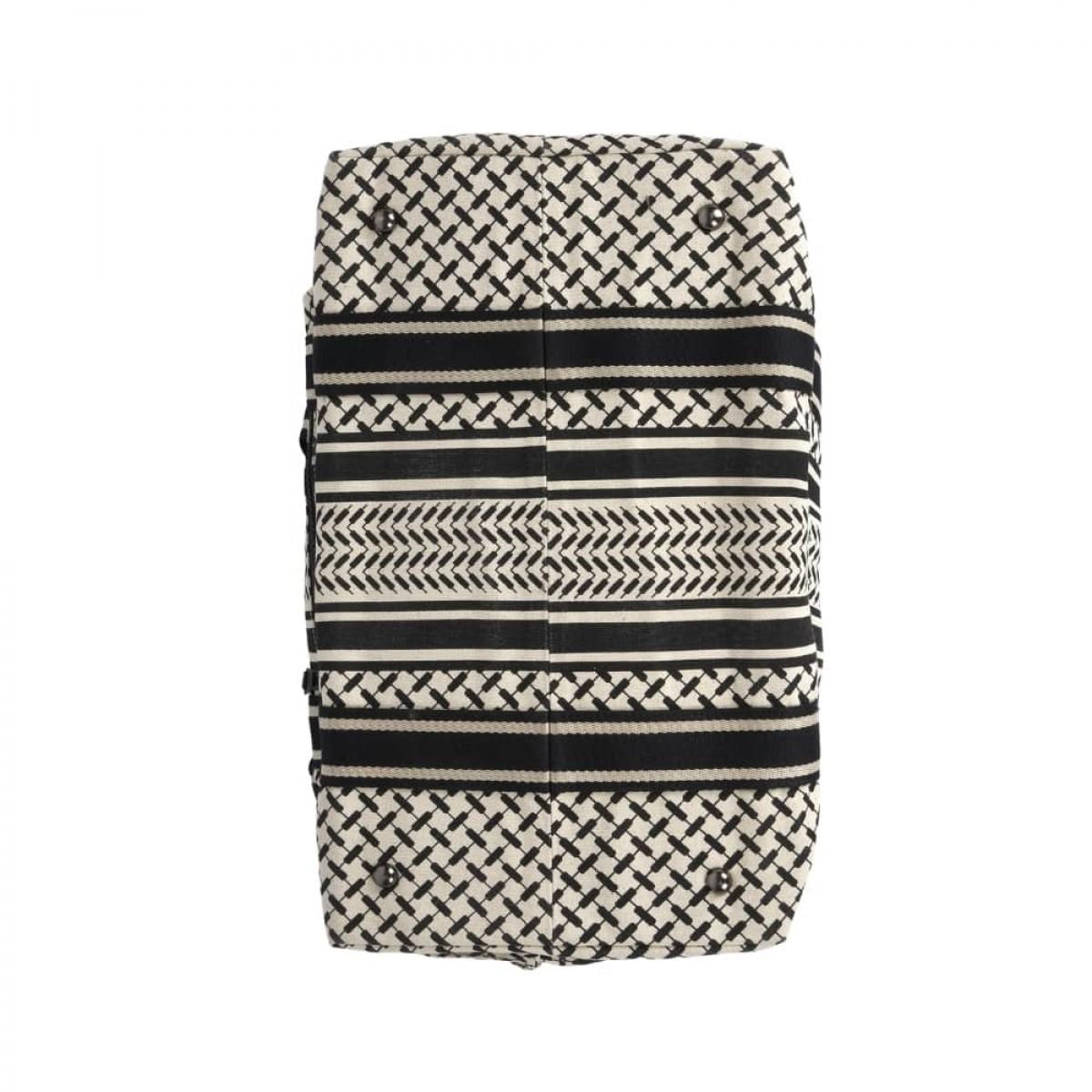 big bag muriel kufiya - off white/black 6 - bunden